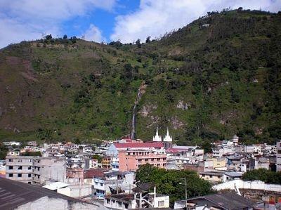 ciudad de Baños de Agua Santa