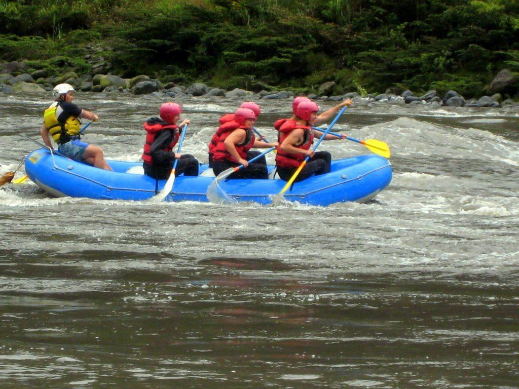 turismo de aventura en Baños