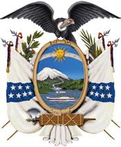 Escudo de Ecuador 1845 a 1900
