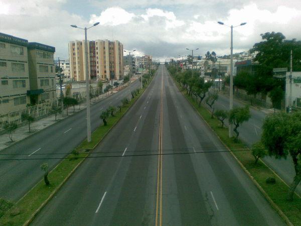 avenida 10 de agosto