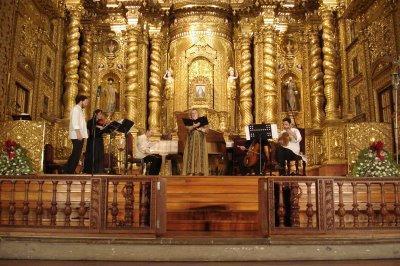 Altar Iglesia de la Compañia