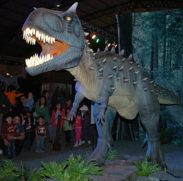 Dinosaurios en Guayaquil