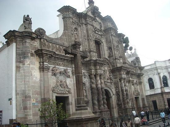 Iglesia de La Compañía en Quito