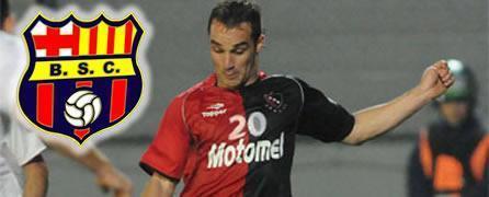 Ivan Borghello nuevo delantero de Barcelona S.C.