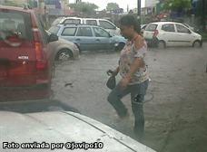 fuertes lluvias en Guayaquil