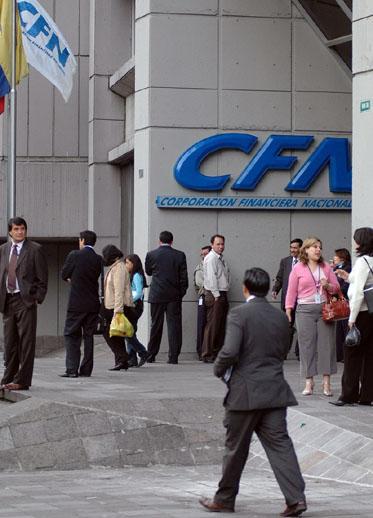 corrupción en la Corporación Financiera Nacional