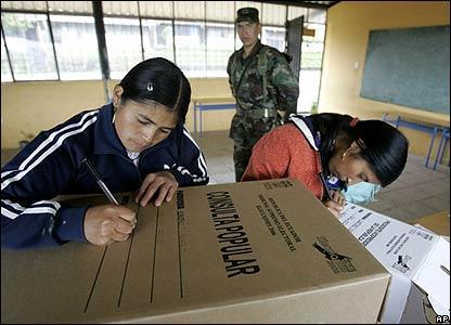 El no ganaría en la Consulta Popular en Ecuador
