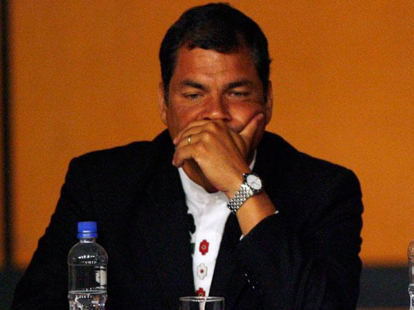 Rafael Correa chao