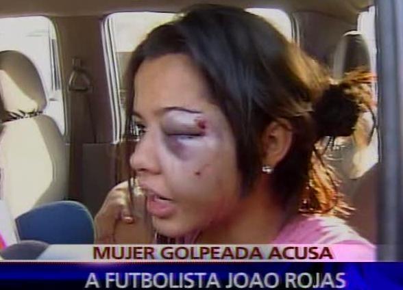 Joao Rojas agredió a joven