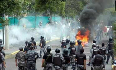 Insubordinación policial 30-S