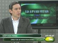 santiago perez encuestador oficial