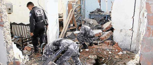 ataque tipo terrorista en Manta