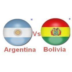 Argentina vs Bolivia en Copa América 2011