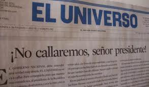 El Universo resiste ataque de Rafael Correa