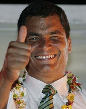 Rafael Correa saco USD 300 000 a Alemania