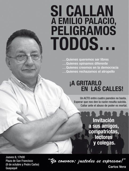 Emilio palacio renunció al diario El Universo