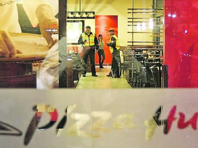 robo a Pizza Hut en Quito