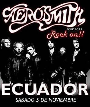 concierto de Aerosmith en Ecuador