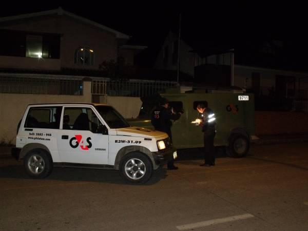 asaltan blindado en Cuenca