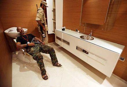 Así vivia el presidente libio, Muamar Ghadafi