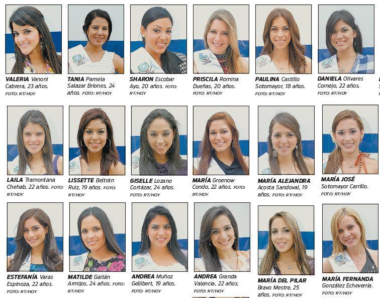 candidatas a Reina de Guayaquil 2011