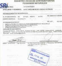Sacar el RUC en Ecuador