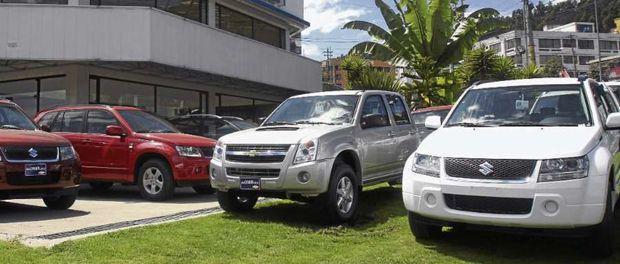 Suben precio de vehiculos en Ecuador