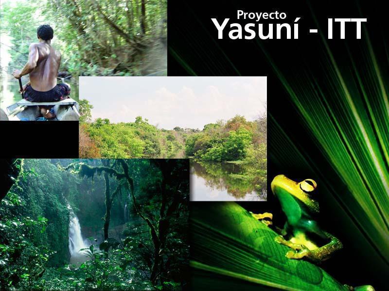 Rafael Correa lanza iniciativa YTasuni ITT