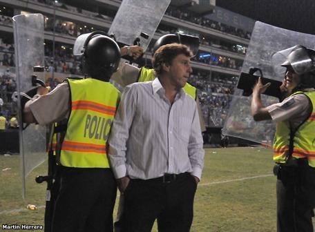 Emelec fue eliminado de la Copa Sudamericana 2011