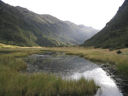 laguna del Parque Nacional Cajas