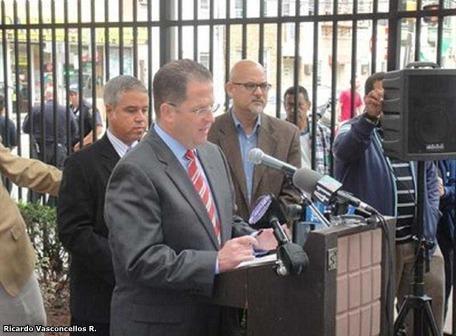 alcalde de Union City rechazó visita de Rafael Correa