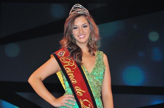 Andrea Callejas Reina de Quito 2011