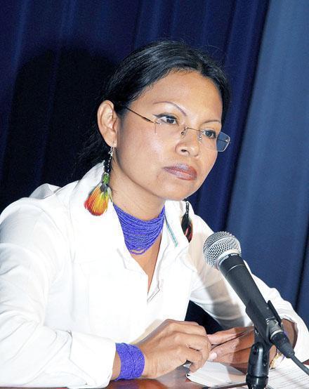 Monica Chuji fue sentenciada por injurias