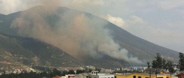 Explosión en la Escuela de Policía al norte de Quito