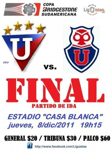 Liga e Quito, finalista de la Copa Sudamericana