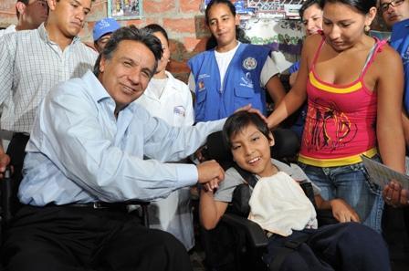 Lenín Moreno encabeza Misión Manuela Espejo