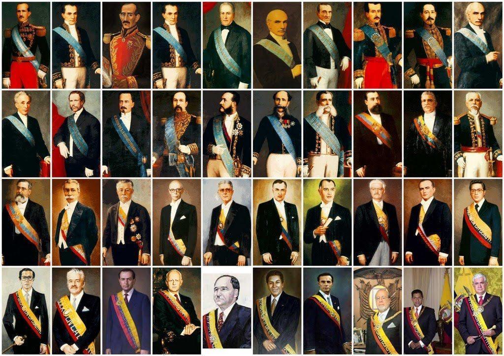 Lista de presidentes de Ecuador completa