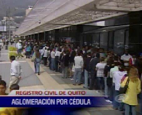 Suben tarifas en el Registro Civil