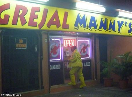 Cangrejal Manny's fue asaltado