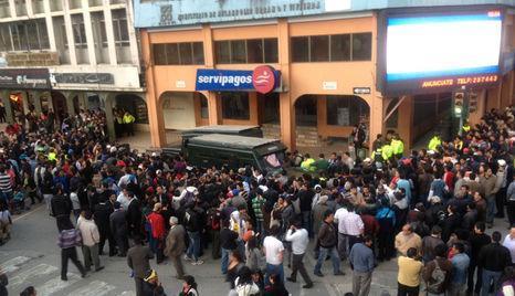 asaltan agencia de Servipagos en Loja