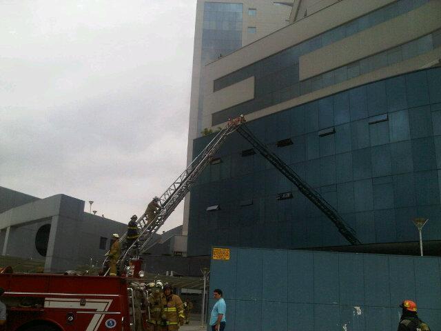 incendio edificio las camaras