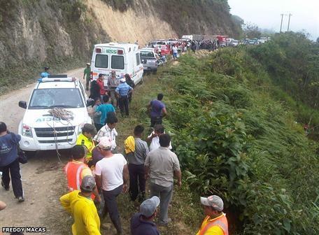 accidente de bus en Chilla
