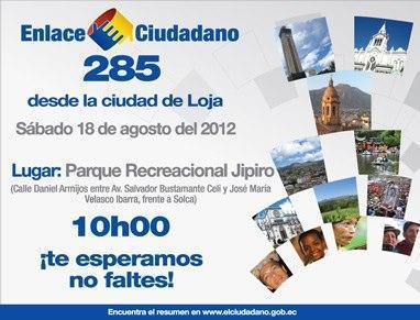 Sabatina de Correa 285 en Loja