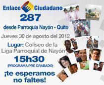 sabatina de Correa del 30 agosto 2012