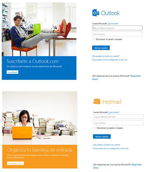 Hotmail cambia de nombre a Outlook