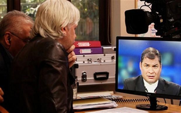 Ecuador concede asilo político a Julian Assange