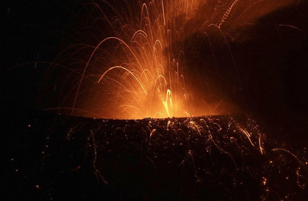 fotos del volcán Tungurahua