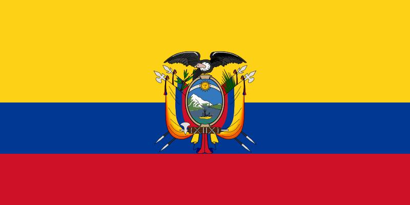 imagen de la bandera del Ecuador