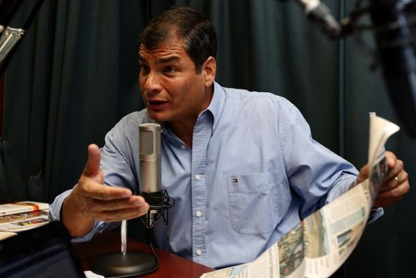 El Comercio suspendió comentarios por amenazas de Rafael Correa