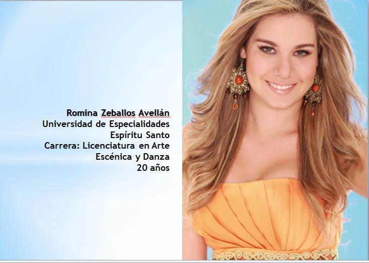 reina de Guayaquil Ecuador